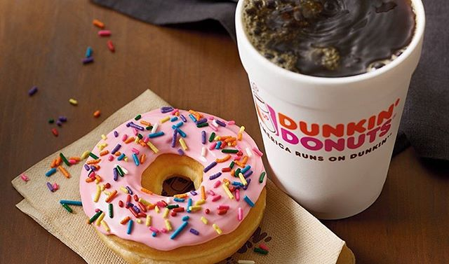 DUNKIN' MONDAY!!!!!! What better way to start your day, week, and month than with coffee and donuts? Stop by the Henkels Academic Building at 9:15AM to grab some brew 🚶🏽‍♀️➡️🏃🏽‍♀️