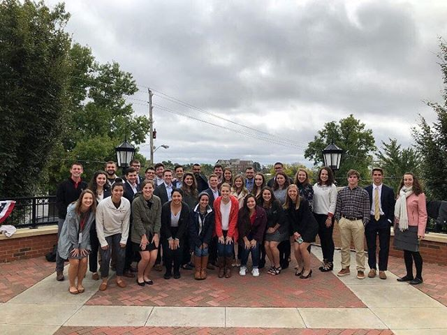 This past weekend, our Vice President, Secretary, and Treasurer attended the Catholic Council Network Conference at Benedictine College in Kansas! The weekend provided an opportunity for councils from five different universities to attend leadership seminars, grow relationships between the schools, discuss campus issues, and collaborate to find solutions to the problems they face- and have fun in the process!