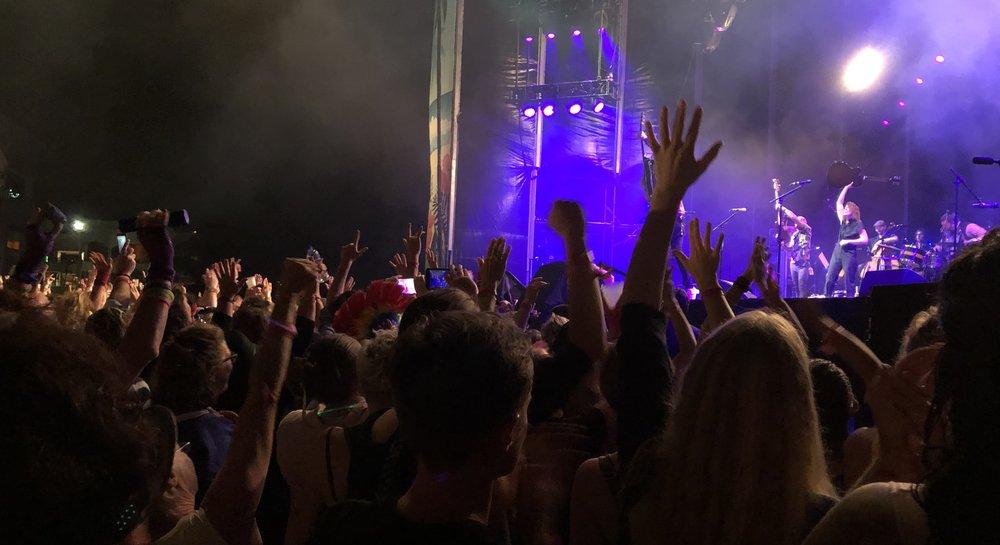 Brandi Carlile Girls Just Wanna Weekend crowd