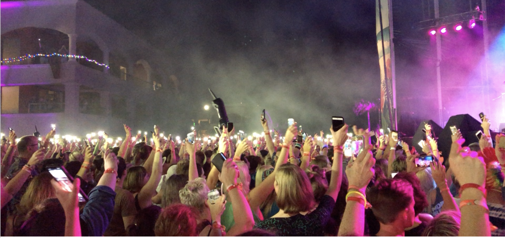 Brandi Carlile Girls Just Wanna 80s crowd
