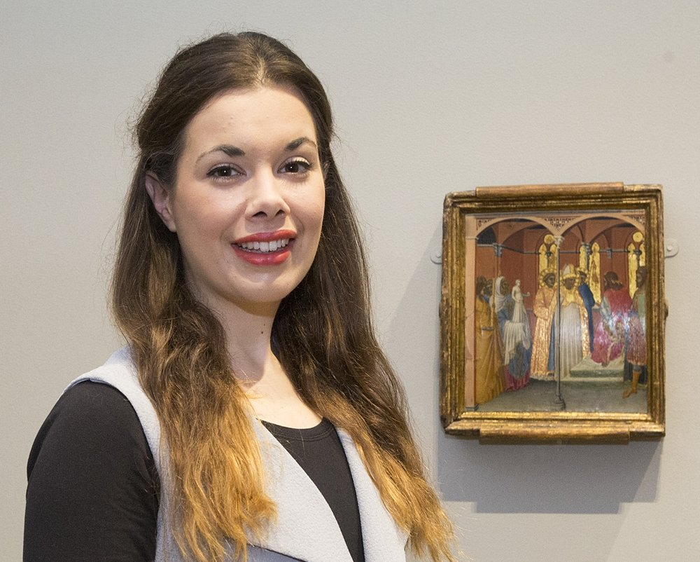Lucy West, The National Gallery Curatorial Trainee supported by the Art Fund with the assistance of the Vivmar Foundation