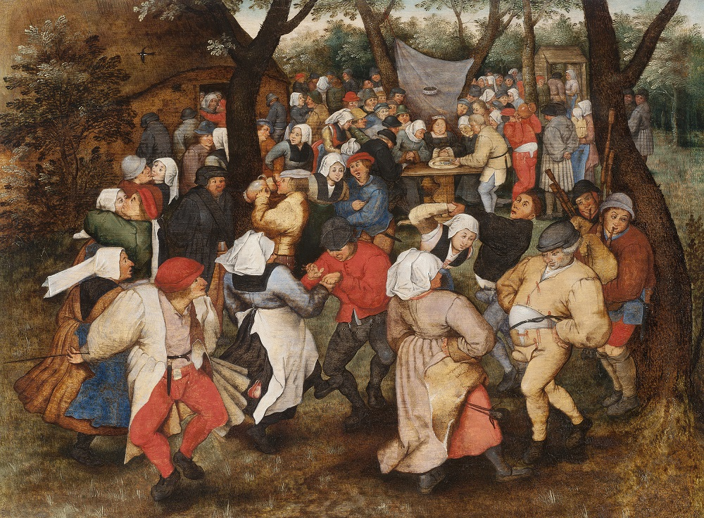Pieter Brueghel the Younger, Wedding Dance in the Open Air, 1607–1614 © The Holburne Museum.