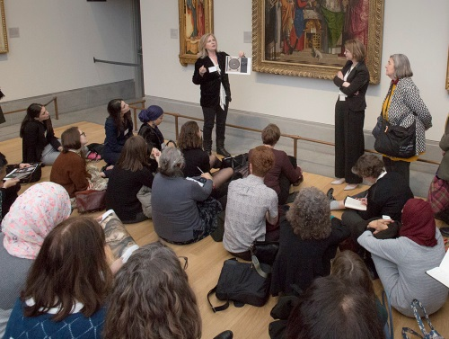 Study day 'east meets west' (16 january 2019), held together with the ssn islamic art & material culture © The national gallery