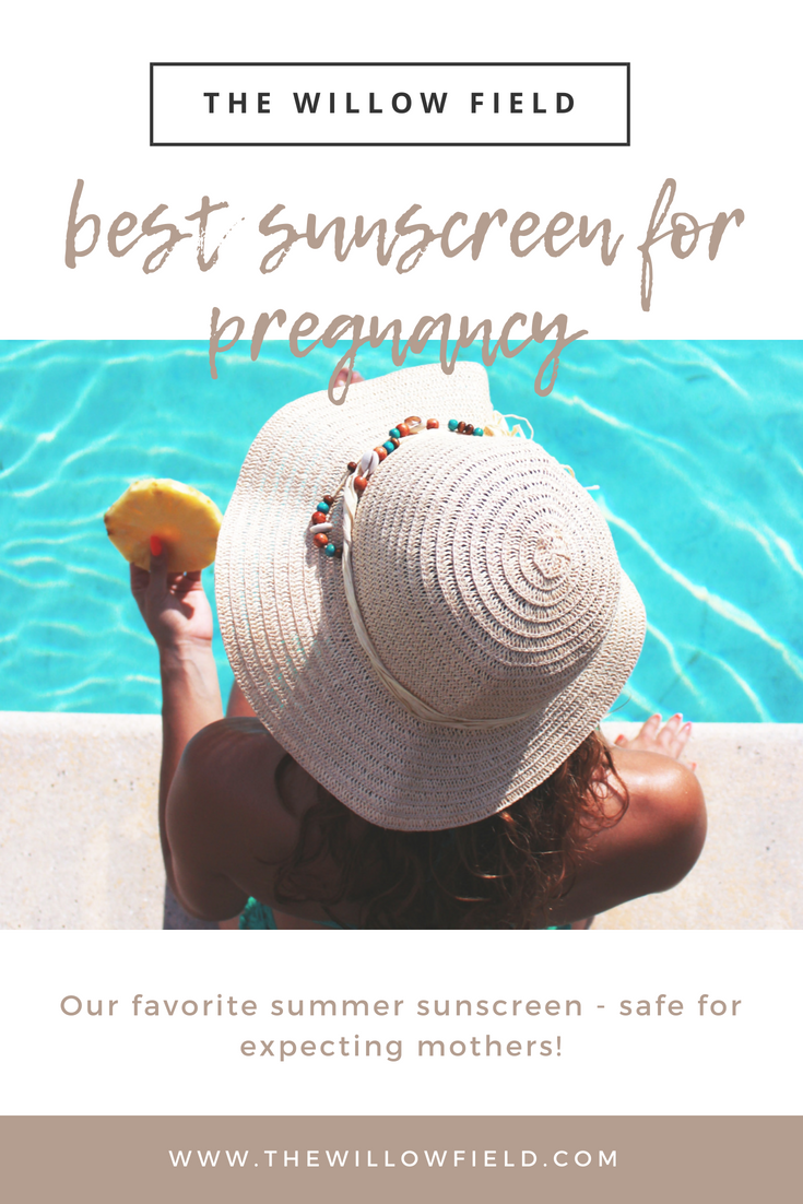 sunscreenforpregnancy