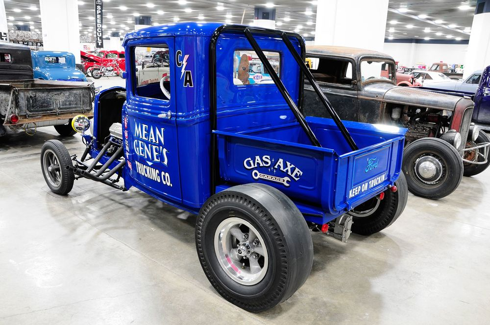 Altered 1932 Ford Pickup — Gas Axe Garage