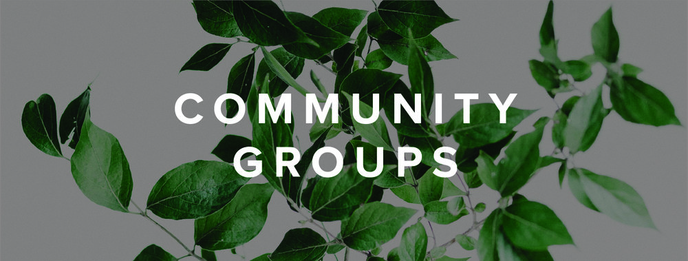 Copy of Community Groups