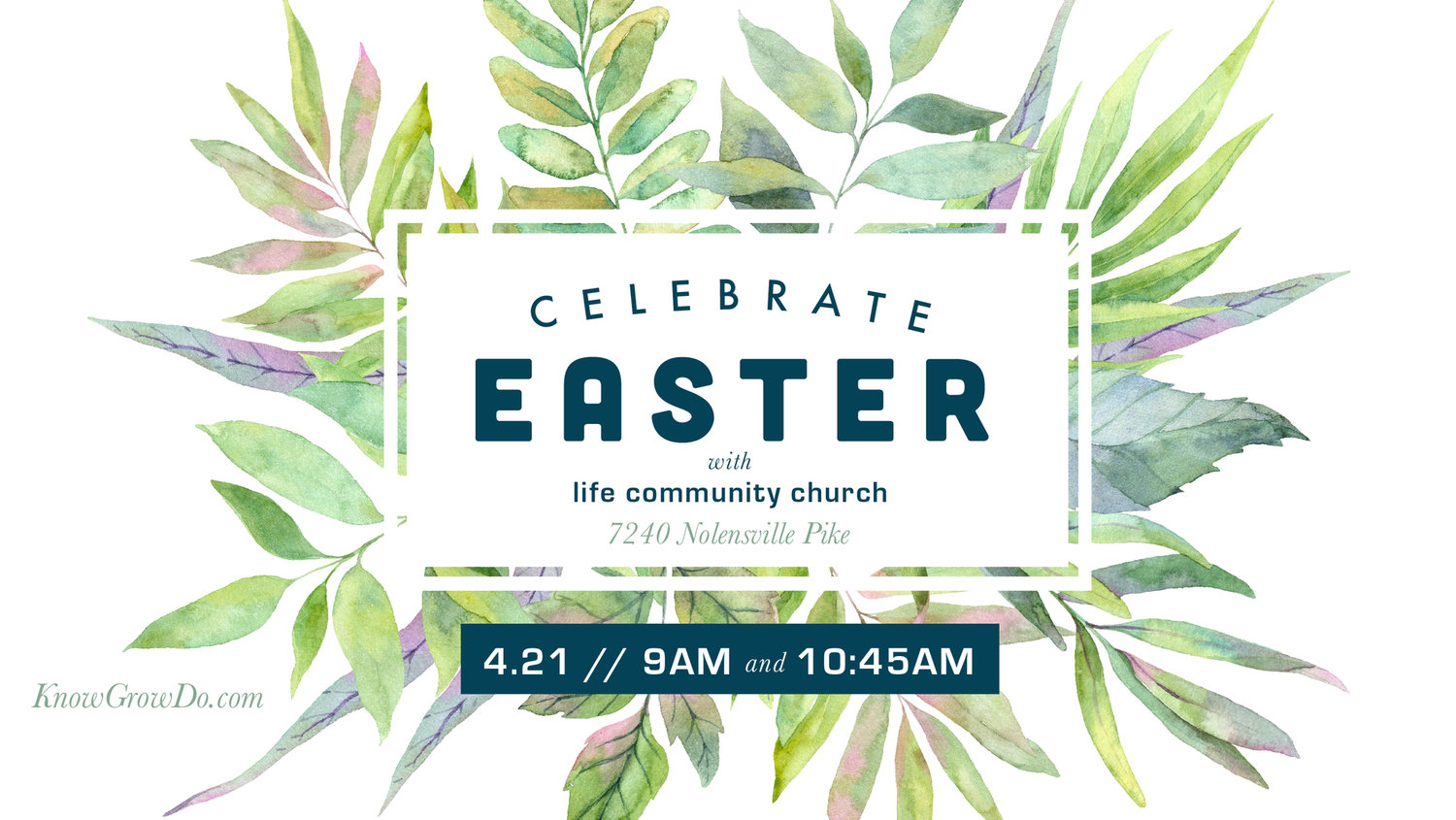 Easter 2019 — Life Community Church