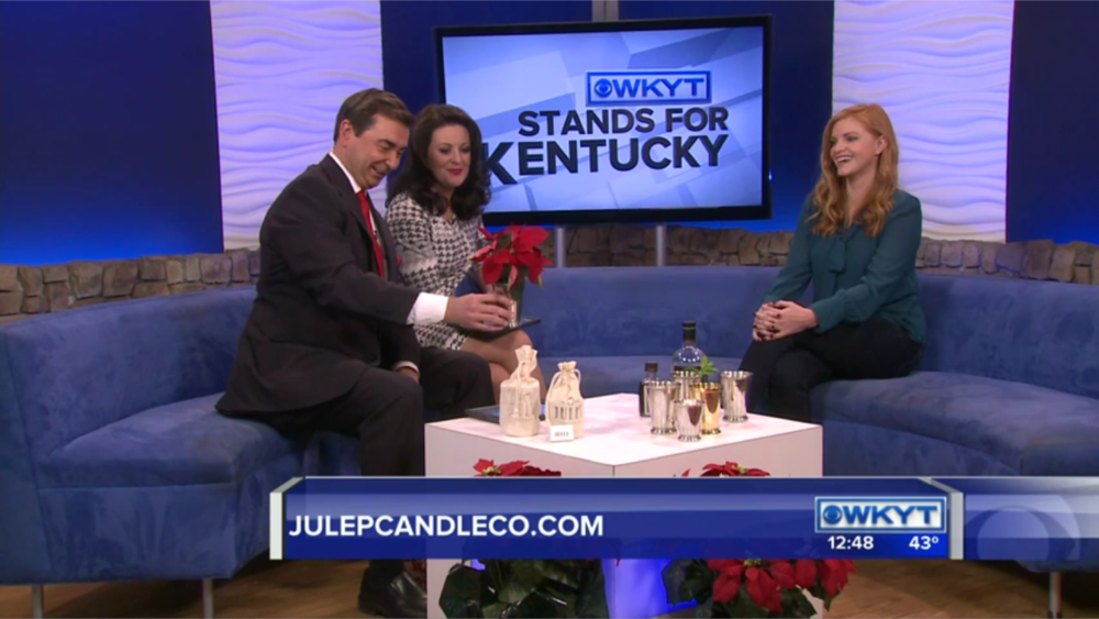 December 23, 2016  - Live segment featuring Julep Candle Co