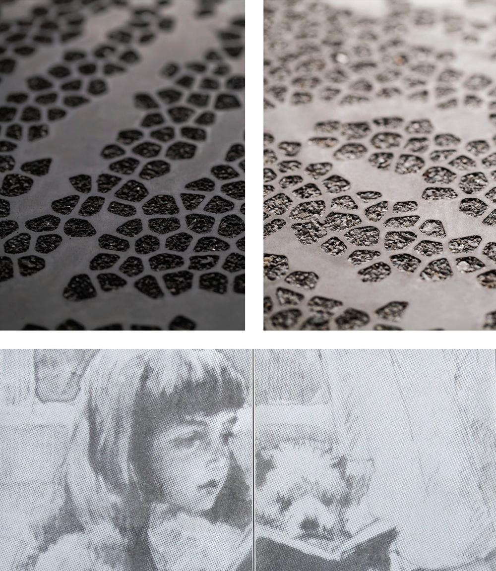 Graphic Concrete, Albert Edelfelt School - Ruhnau Ruhnau Clarke