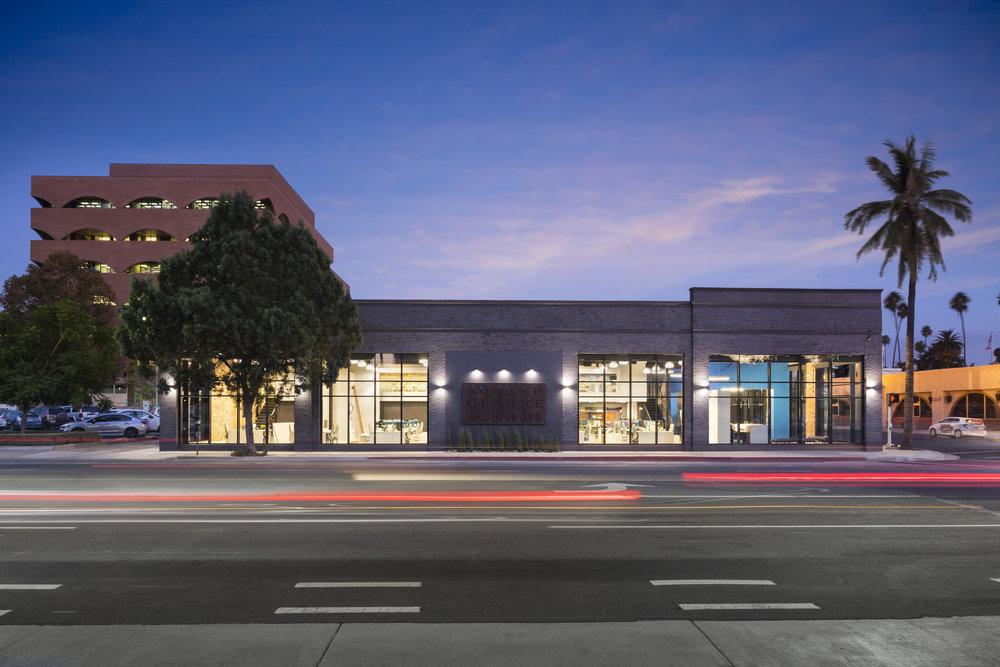 Ruhnau Clarke Architect's Office in Downtown Riverside.