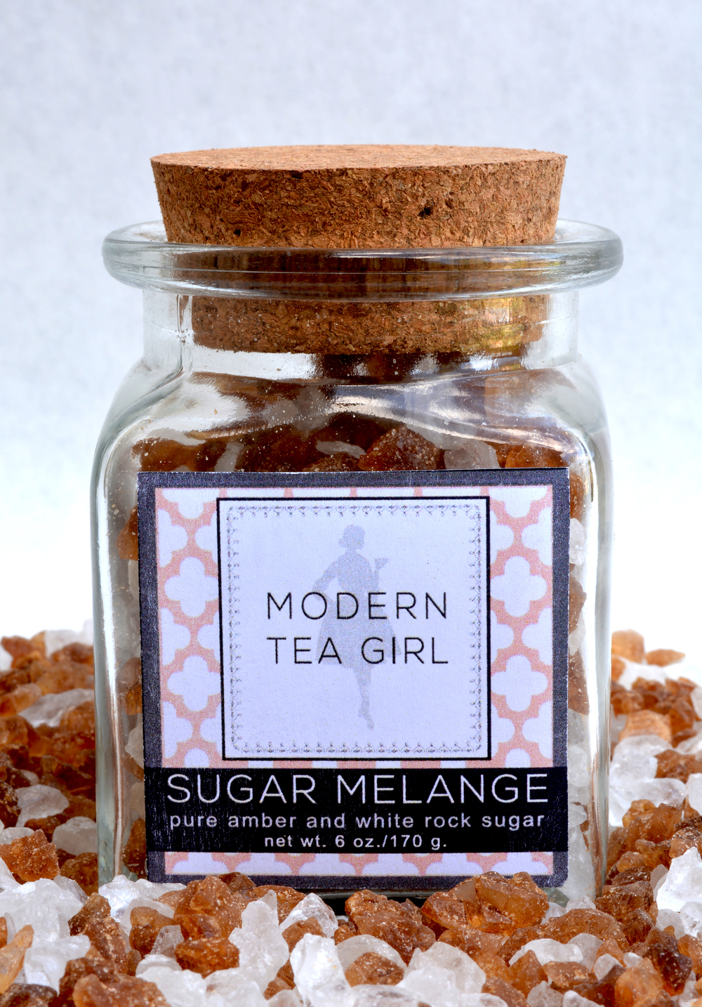 Modern Tea Girl Sugar Melange