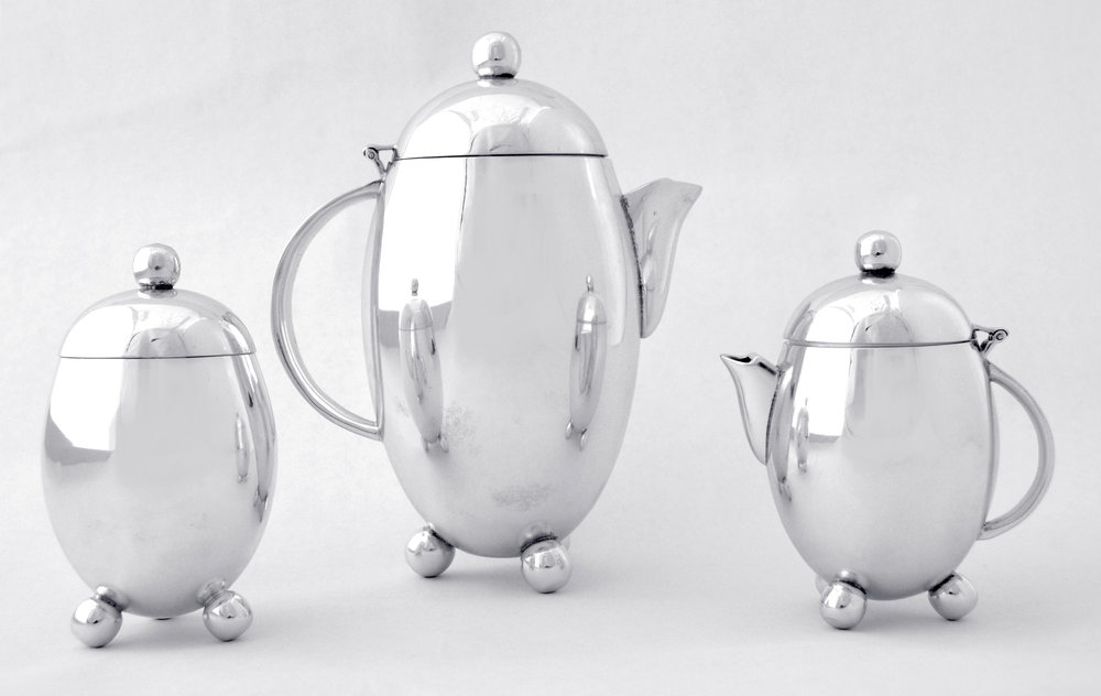 Elephant Approved™ Silver Tea Set