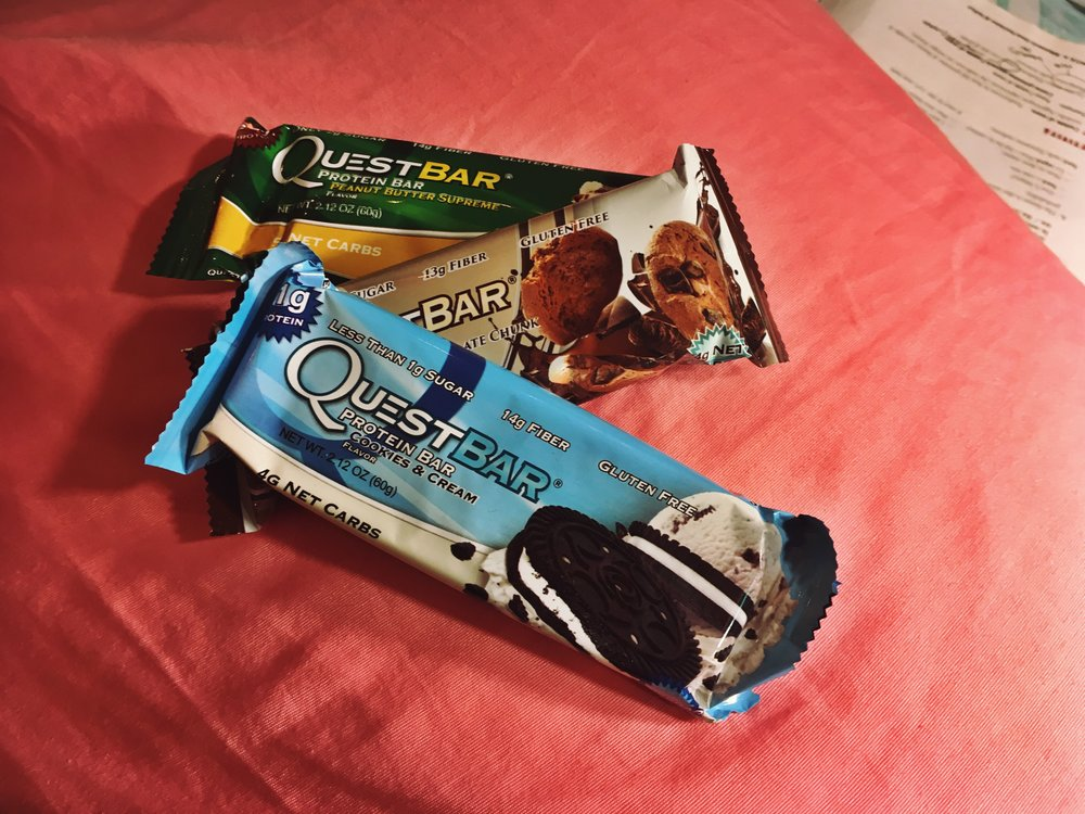Pre-Workout Snack! #questbar.jpg