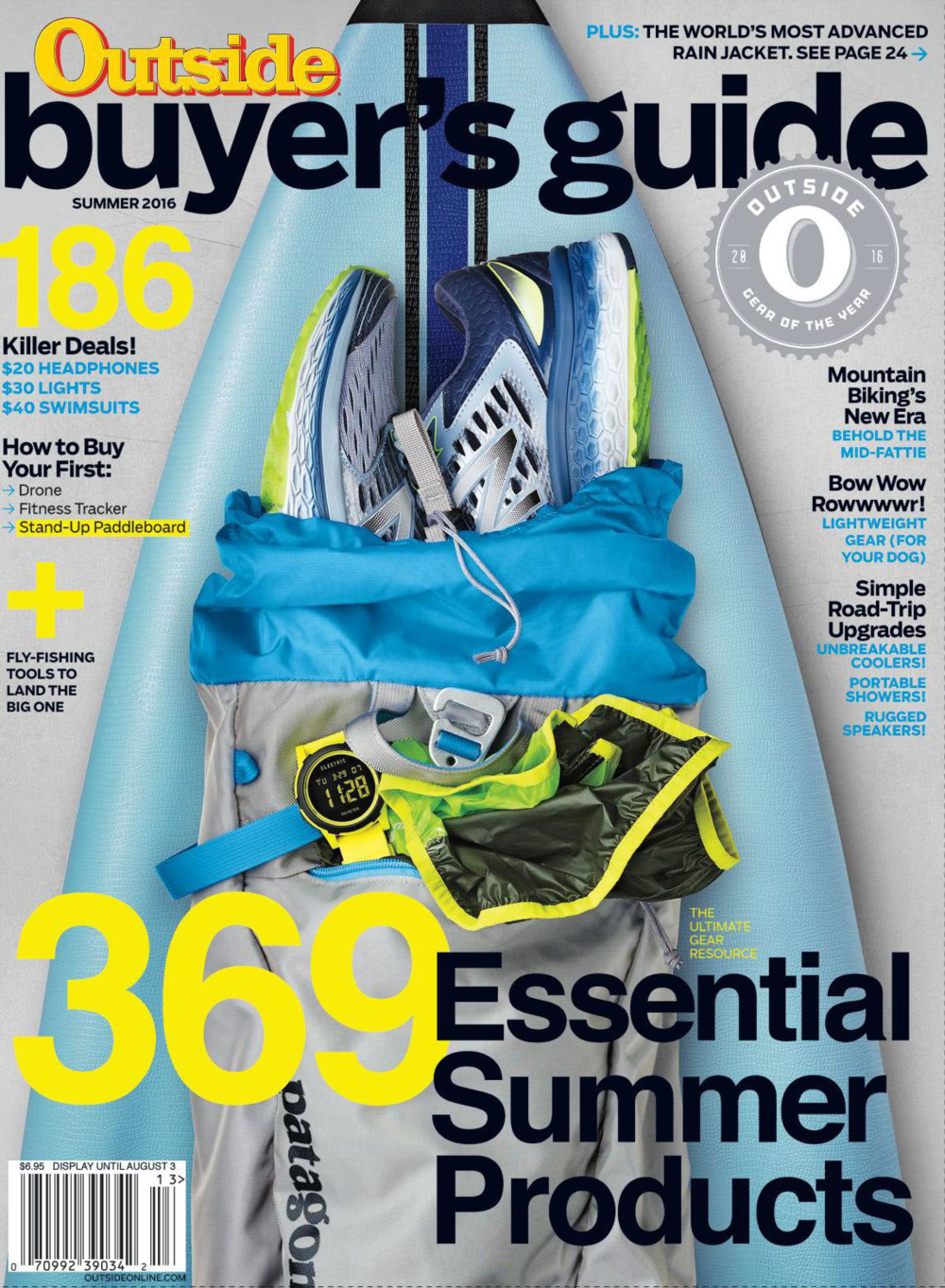 2016 Outside Magazine Summer Buyer's Guide