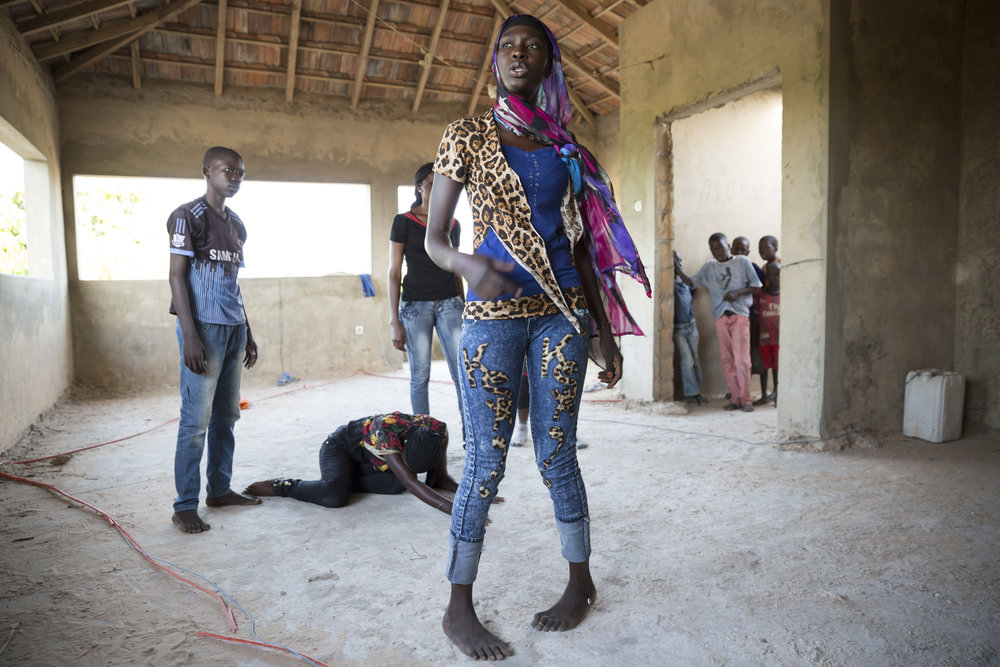 SENEGALESE APPLIED THEATRE - PHOTOGRAPHS