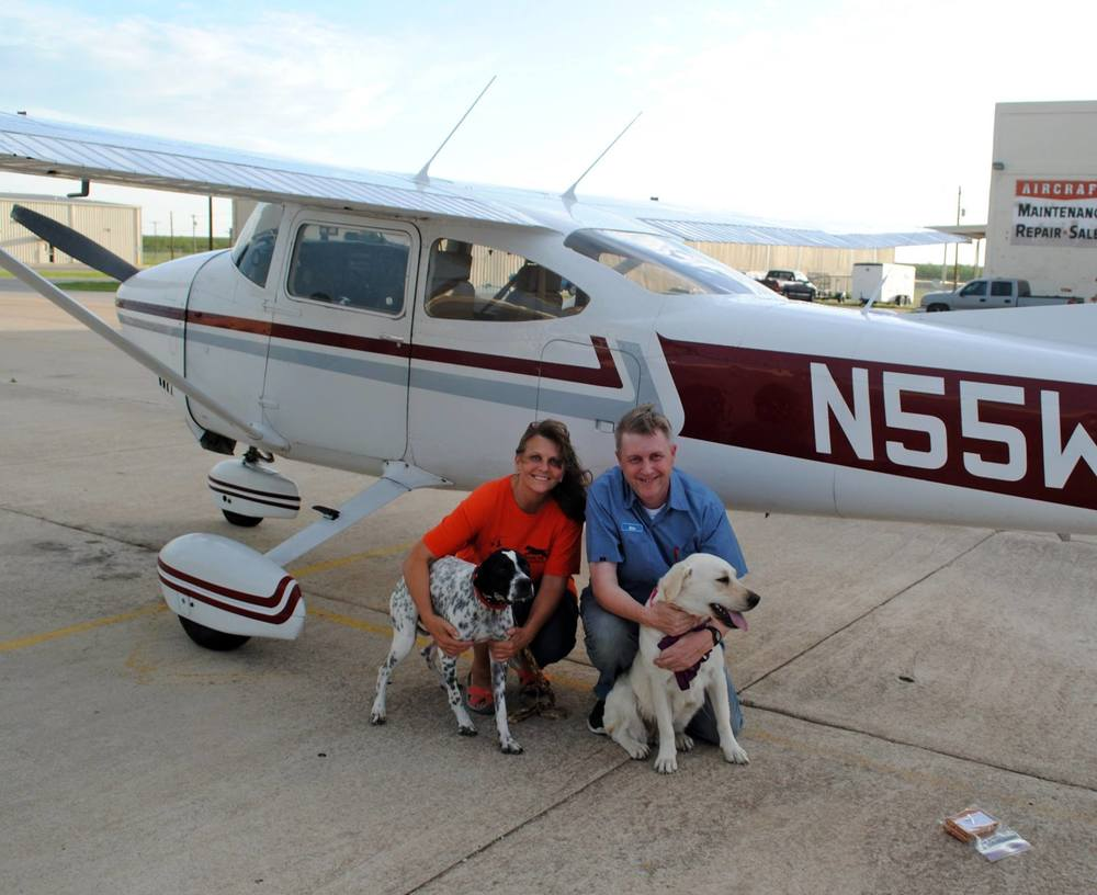 Pilots-n-Paws rescue flight to San Angelo