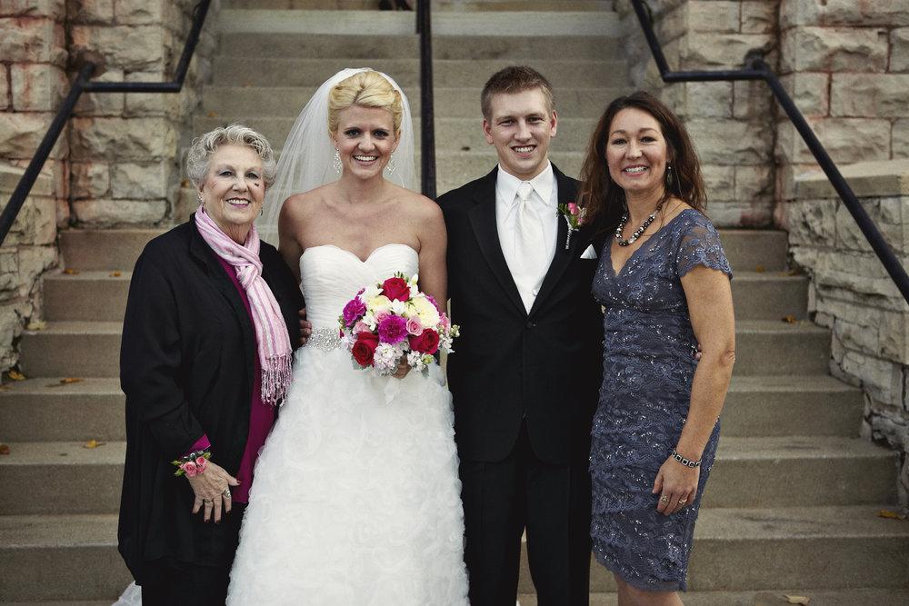 Mindy and Chris Larsen Wedding by Marissa Maharaj