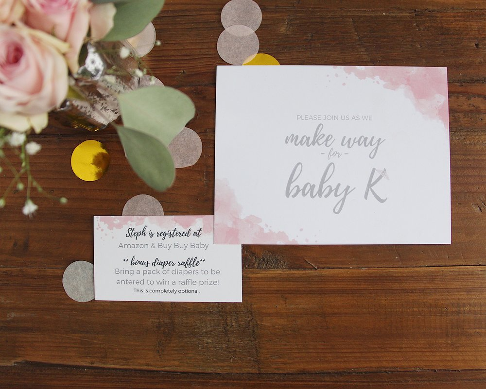 elegant baby shower invites_Mindy Larsen