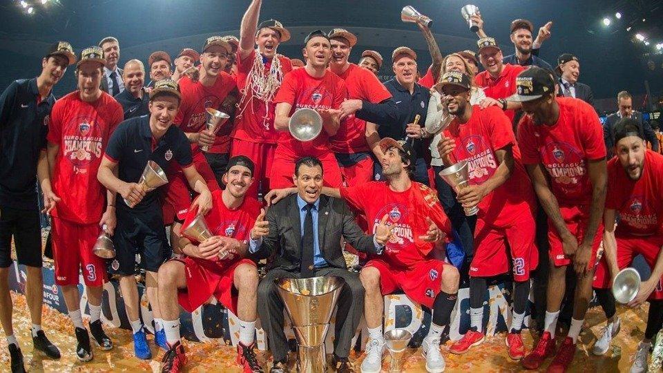 CSKA campeón de la Euroliga