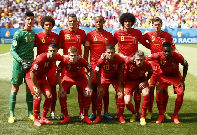 Belgium Squad World Cup Qualifiers 2018