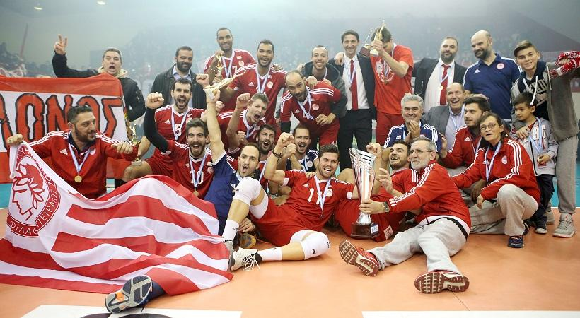 Olympiacos Cruise to First Title of the Year e51027c6ce4