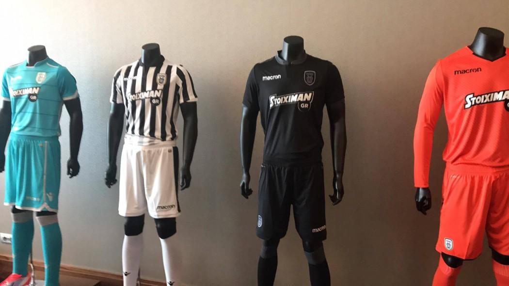 PAOK s kits for the new season — AGONAsport.com d290607427c