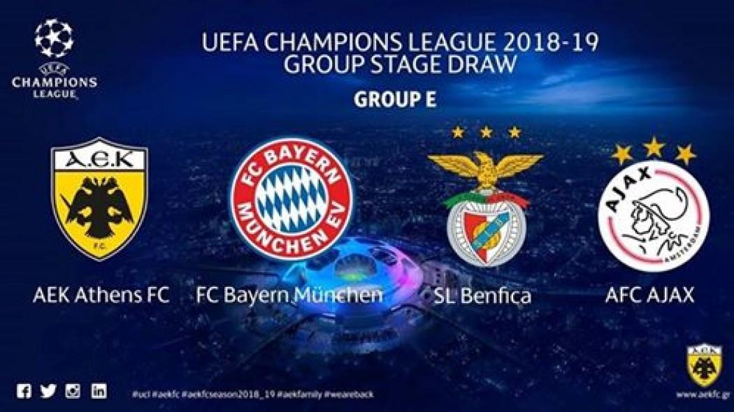 Aek S Uefa Champions League Schedule Agonasport Com