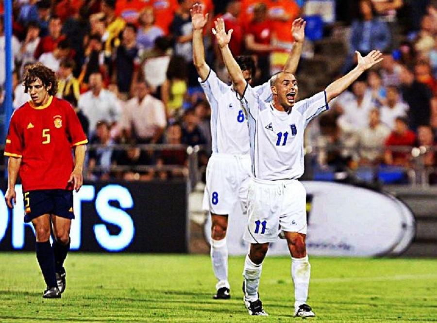 Spain loss rekindles memories of famous Greek win