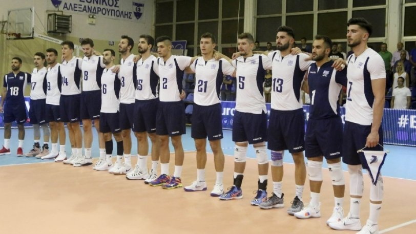 Greek National Volleyball Team — AGONAsport com