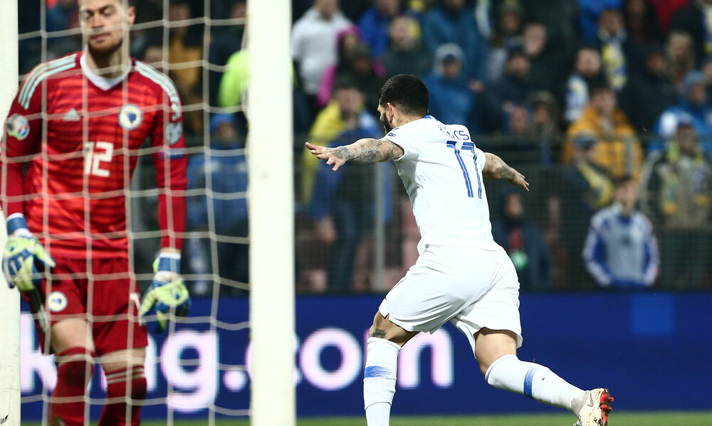 Greece successfully recover from two-goal deficit for first