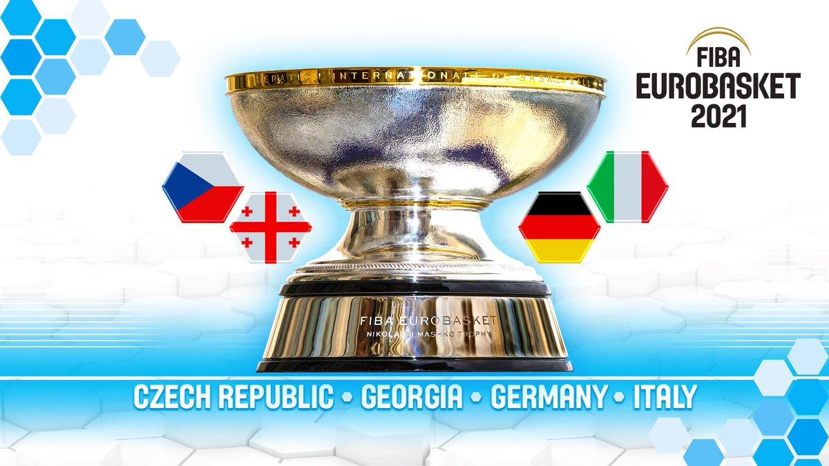 Four countries to host EuroBasket 2021 — AGONAsport.com