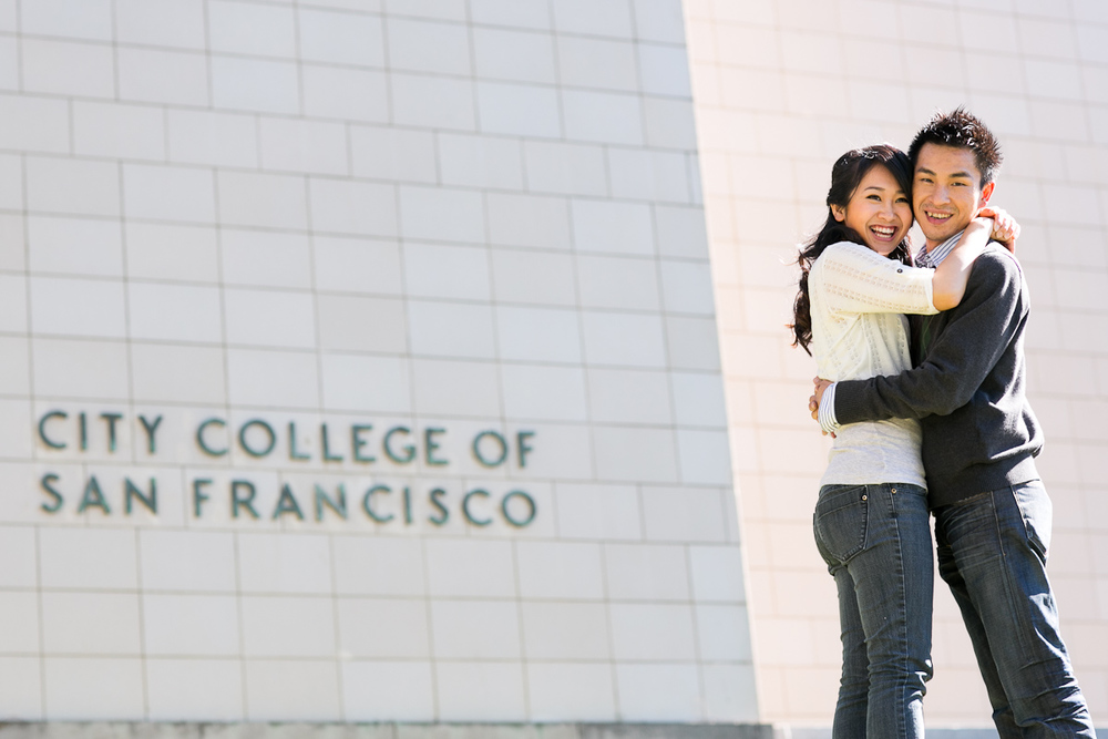 Nina-Hong-004-4-san-francisco-city-college-engagement-session.jpg