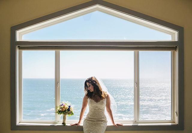 Gorgeous view from the suite at Cypress Inn from yesterday's Half Moon Bay wedding.  #weddingphotography #halfmoonbay #sanfranciscoweddingphotographer