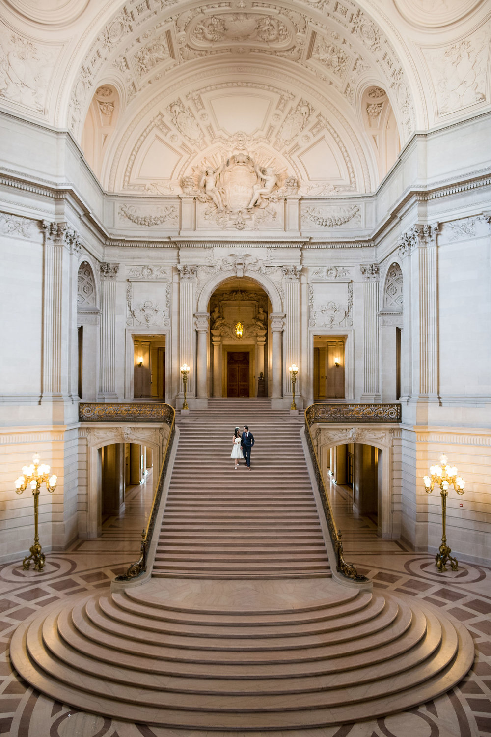 city hall san francisco wedding grand stairs.jpg