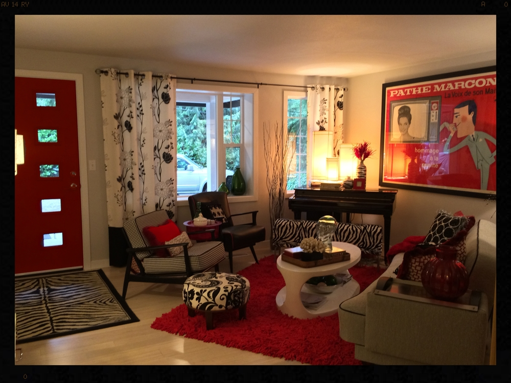 Woodinville Living Room Remodel After