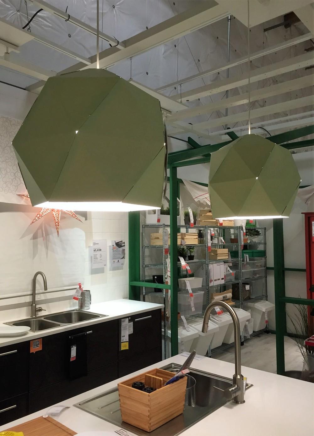 JOXTORP Pendant lamp shade, light green $4.99