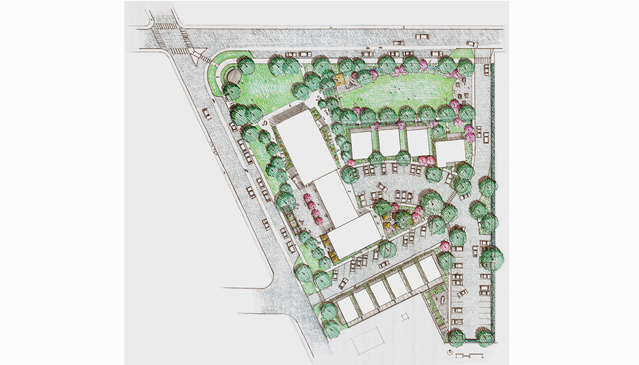 Eastwood Village Site Plan