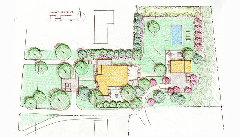 Deleot Residence Site Plan