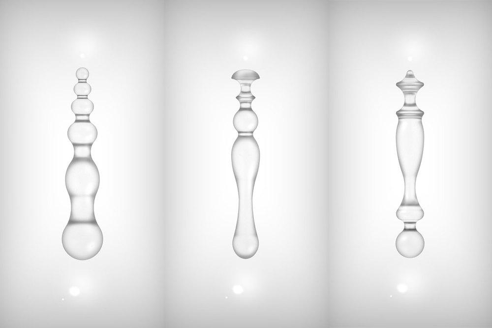 JEON Jin Hyun: Sensory DESSERT Spoon I Aeiou, LOLLY Series, 2015, Kristallglas © Jeon Jin Hyun, courtesy of Keum Art Projects