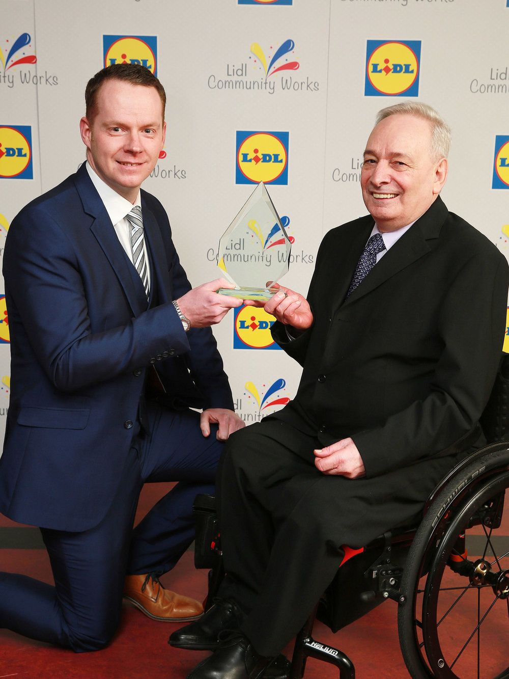 Conor Boyle from Lidl with Trevor Boyle, Lisburn.jpg