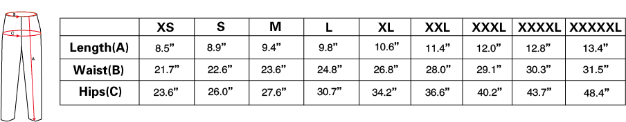 shorts measurements.png