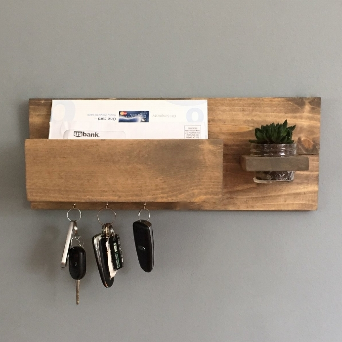 Modern Mail + Key Holder