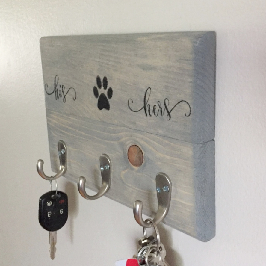 Family Key Holder. His U0026 Hers Key Holder