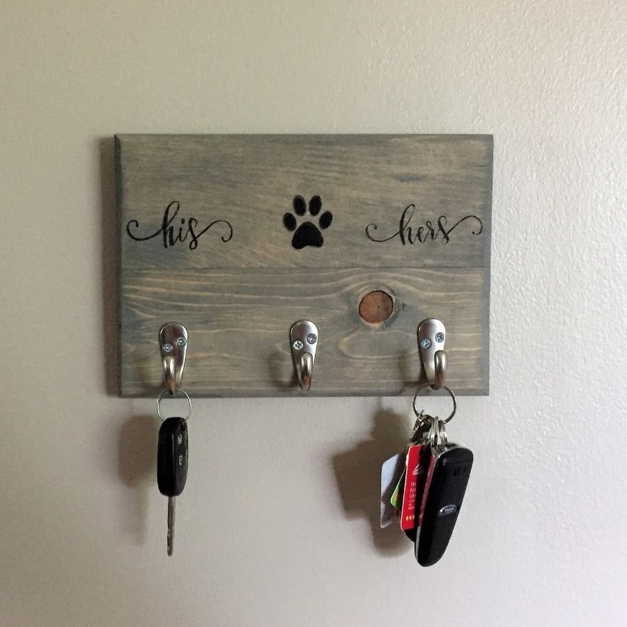 Family Key Holder. His U0026 Hers Key Holder