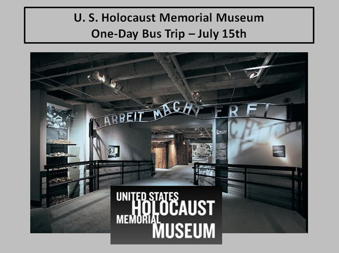 """Memory is what shapes us. Memory is what teaches us....  Above all, we have to illuminate the future.""                                               Estelle Laughlin Holocaust Survivor"
