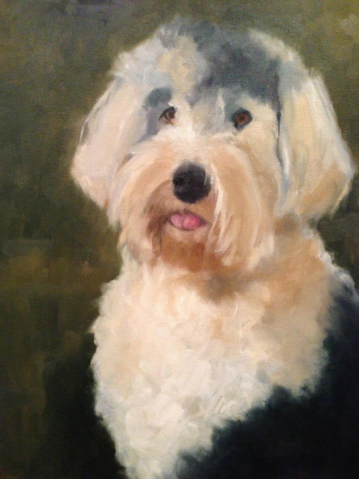 Gretchen, Oil on Canvas, 16 x 20