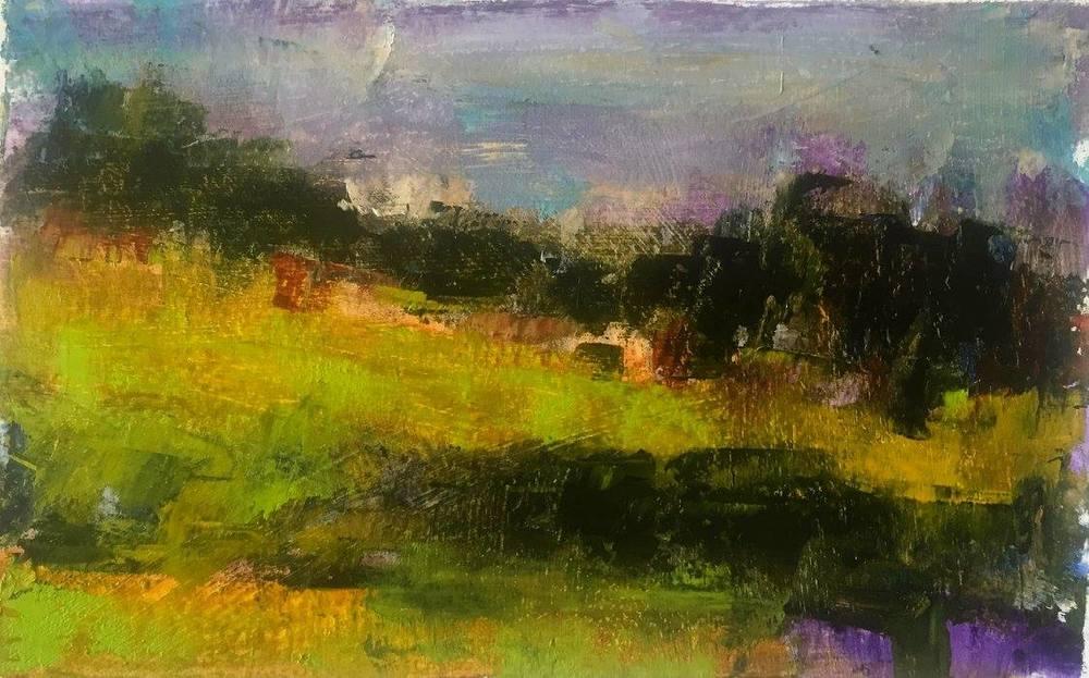 Summer Morning, Oil, 13x10, SOLD