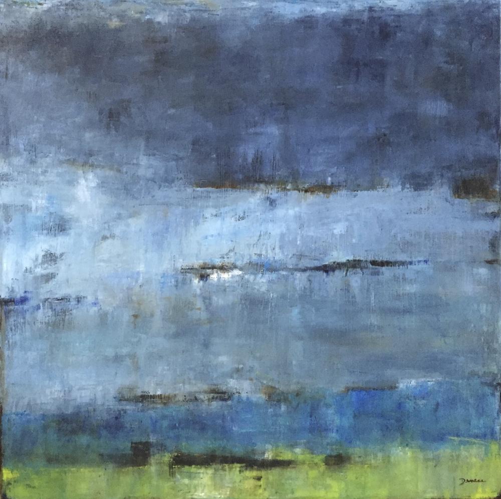 Blue Bayou, Oil on Canvas, 24 x 24
