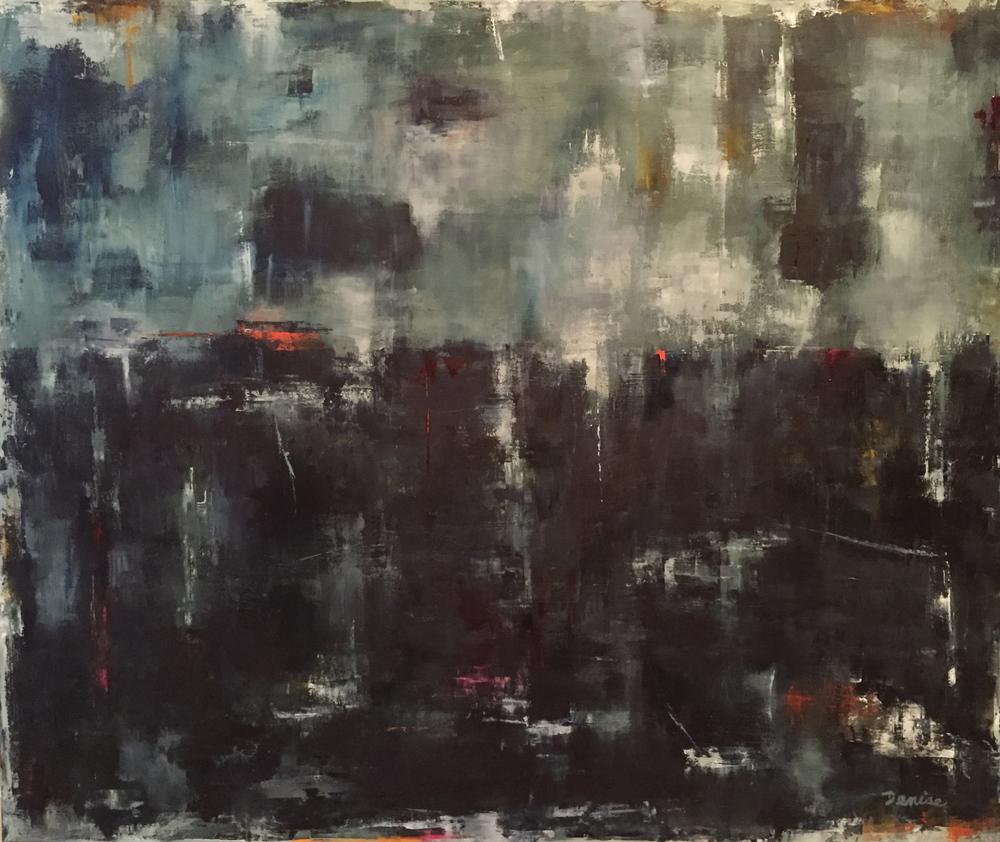 Turbulent Times, Oil on Canvas, 36x30