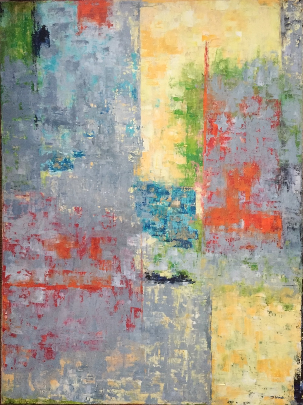 Grey Gardens, Oil on Canvas, 30x40